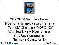 MORONDAVA  Hetsiky ny Mpanohana an-dRavalomanana   Tsimok'i Gasikara