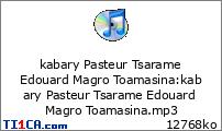 kabary Pasteur Tsarame Edouard Magro Toamasina